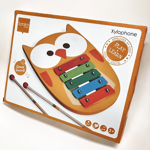 Scratch Xylophone Eule