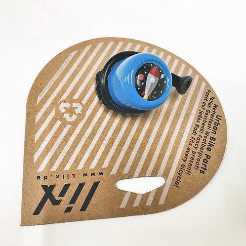 Liix Fahrradklingel Rakete blau