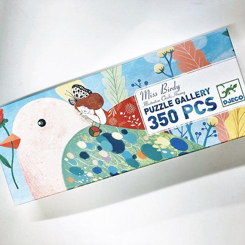 Djeco Puzzle Gallery Miss Birdy
