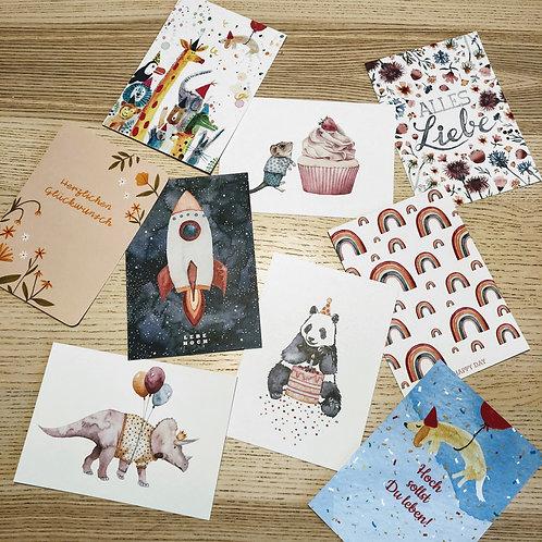 Postkarten zum Geburtstag 3