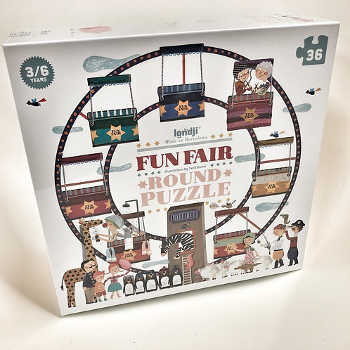 Londji Puzzle Round Fun Air 36 Teile