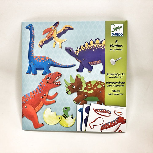 Djeco Hampeldinosaurier