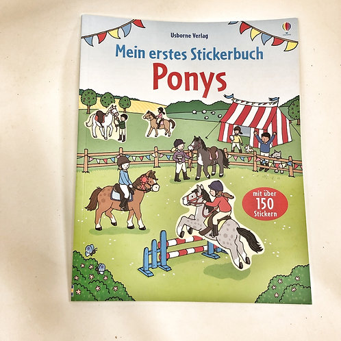 Usborne Stickerbuch Ponys
