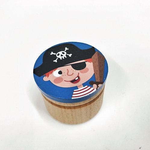 Zahndose Pirat