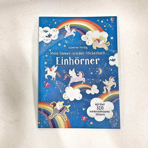 Usborne Stickerbuch Einhörner
