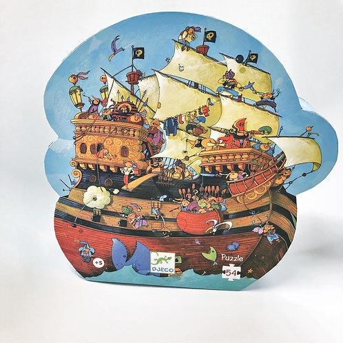 Djeco Formen Puzzle Barbarossas Boat