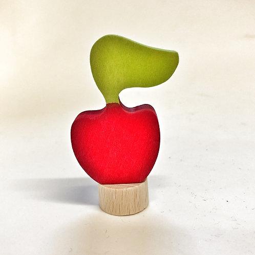 Grimms Steckfigur Apfel rot