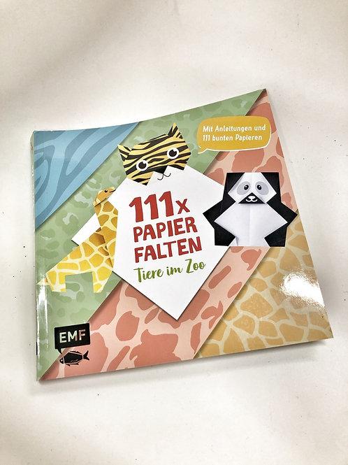 EMF 111 Papierfalten Tiere im Quadrat Origami