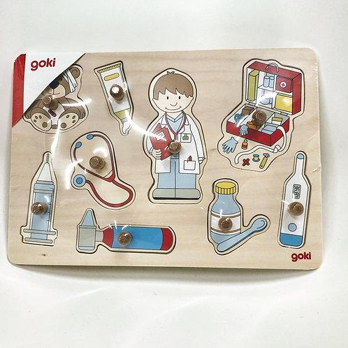 Goki Steckpuzzle Arzt