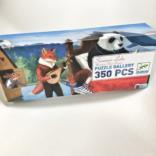 Djeco Puzzle Gallery Summer Lake - 350 Teile