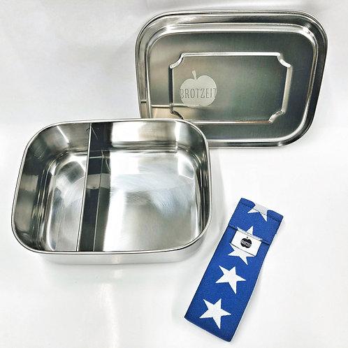 Brotzeit Zweier Lunchboxen mit Unterteilung
