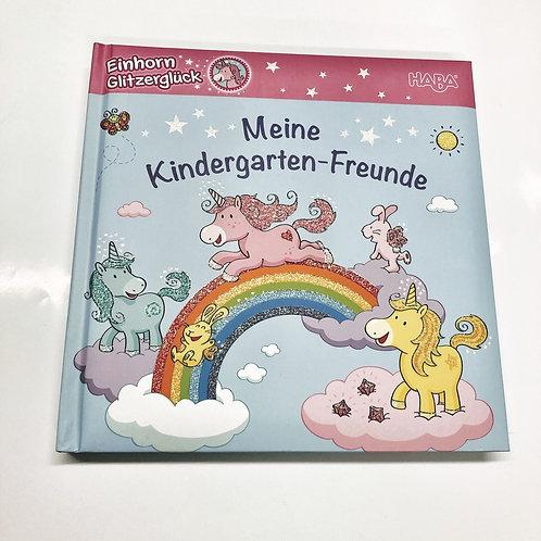 Meine Kindergarten-Freunde Einhorn Glitzerglück