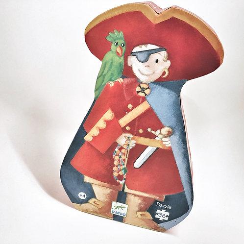 Djeco Formenpuzzle Pirat