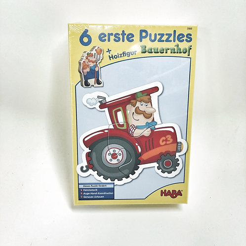 Haba 6 erste Puzzle Bauernhof
