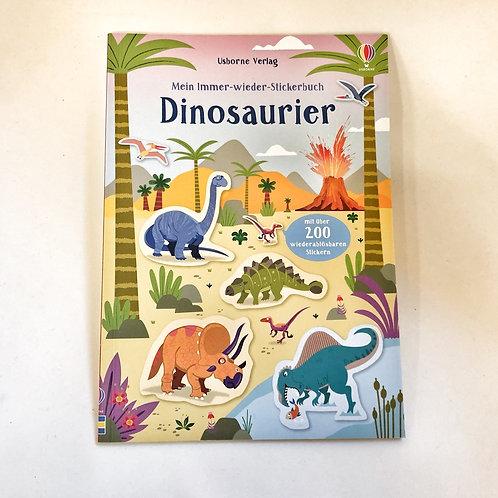 Usborne Mein Immer wieder Stickerbuch Dinosaurier
