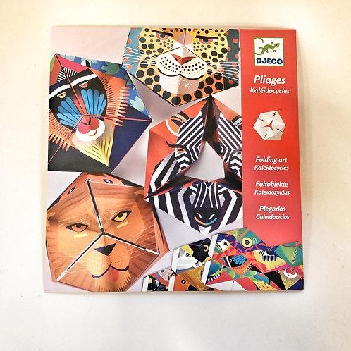 Djeco Origami Faltobjekte Tierflex