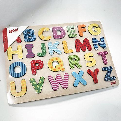 Goki Puzzle ABC bunt