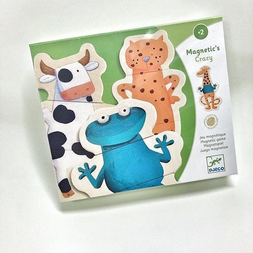 Djeco Magnete Verrückte Tiere