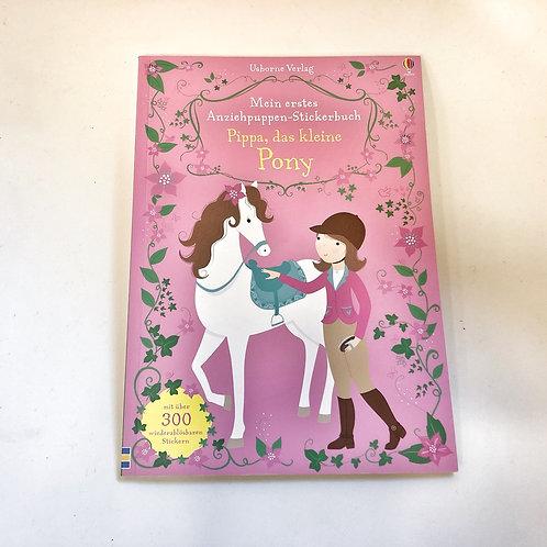 Usborne Mein Immer wieder Stickerbuch Pippa das kleine Pony