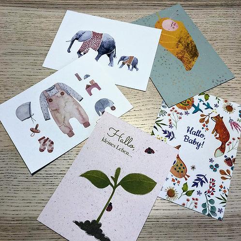 Postkarten zur Geburt 2