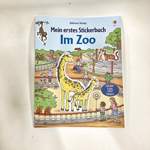Usborne Stickerbuch Im Zoo