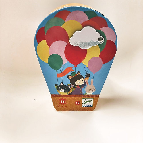 Djeco Formen Puzzle Der Heißluftballon