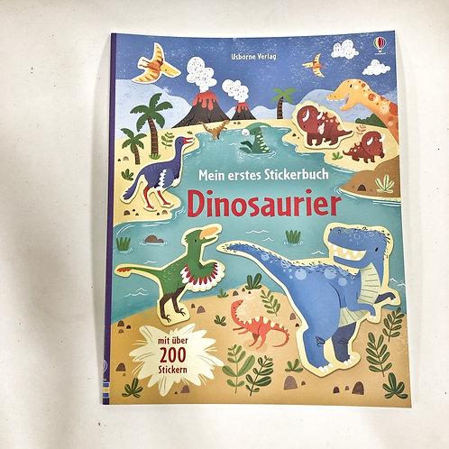 Usborne Stickerbuch Dinosaurier