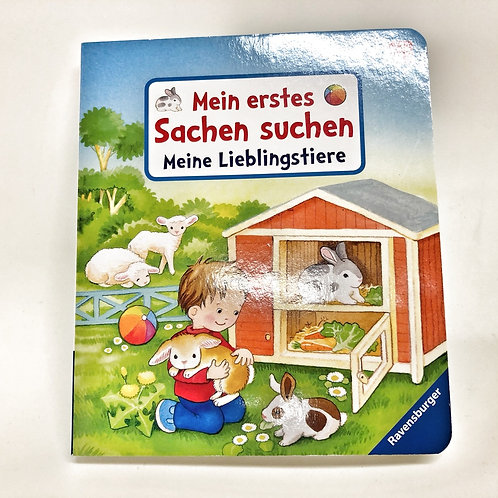 Ravensburger Mein erstes Sachen suchen Meine Lieblingstiere
