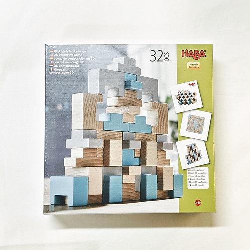 3D Legespiel Formenmix