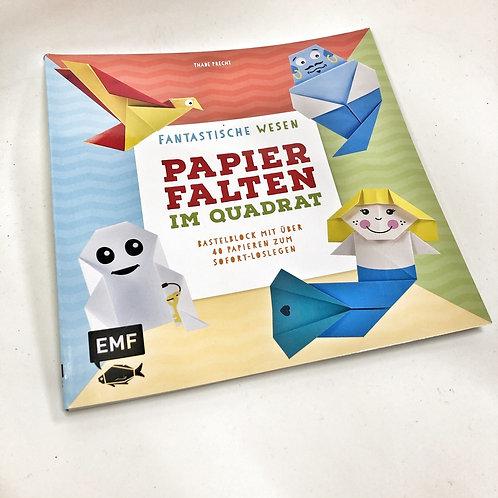 EMF 111 Papierfalten Tiere im Zoo Origami