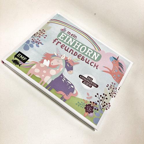 EMF Freundebuch Einhorn