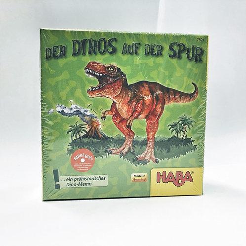Memo Den Dinos auf der Spur