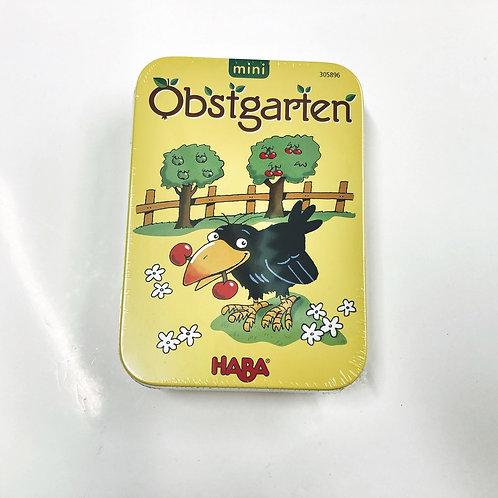 Mini Spiel Obstkarten