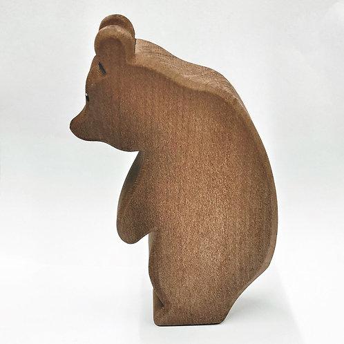 Ostheimer Bär groß stehend Kopf tief