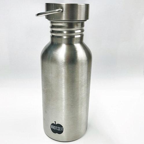 Brotzeit Trinkflasche aus Edelstahl 500ml