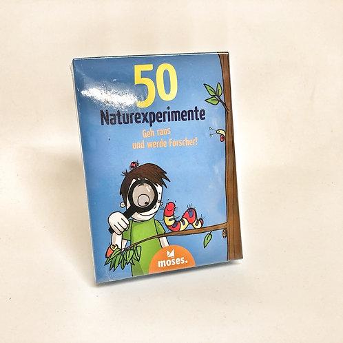 Moses 50 Naturexperimente