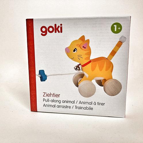 Goki Nachziehtier Katze