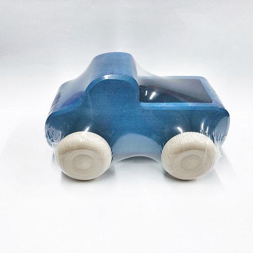 Blauer Lastwagen