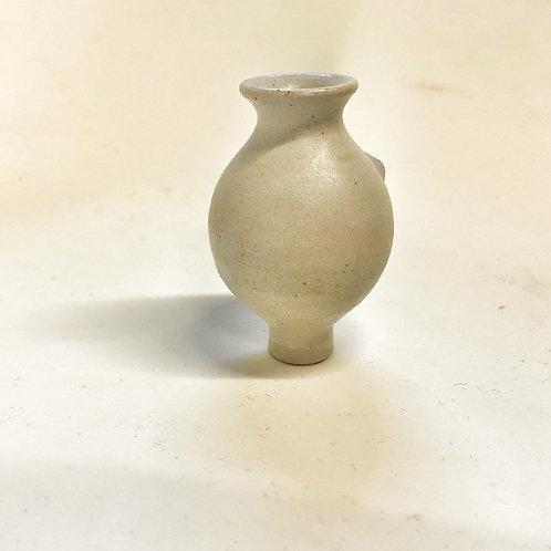 Grimms Vase weiß