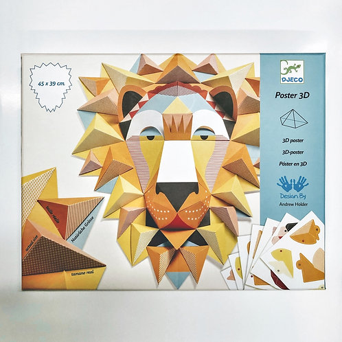 Papierkunst: Löwe