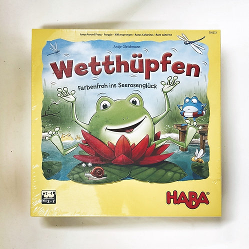 Haba Wetthüpfen - Farbenfroh ins Seerosenglück