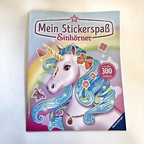 Ravensburger Mein Stickerspaß Einhörner