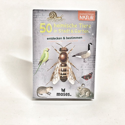 Expedition Natur 50 heimische Tiere entdecken und bestimmen