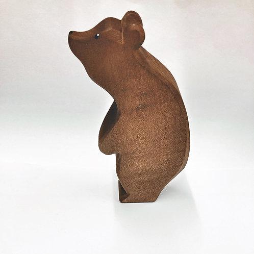 Ostheimer Bär groß stehend Kopf hoch