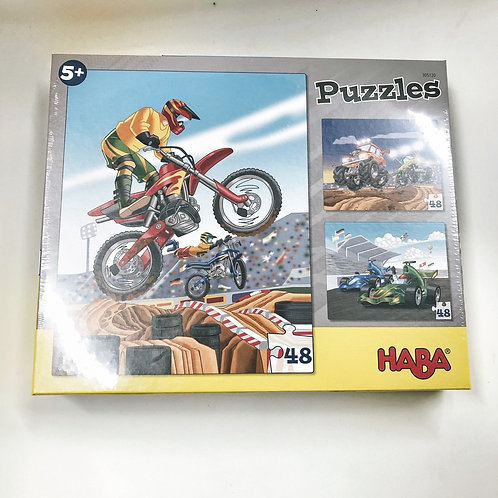 Haba Puzzles Motorrad