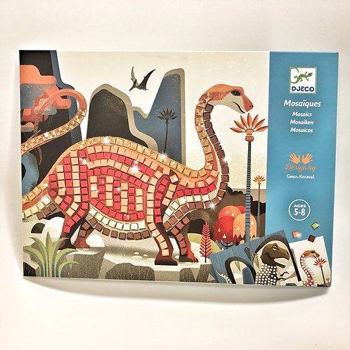 Djeco Mosaik Dinosaurier