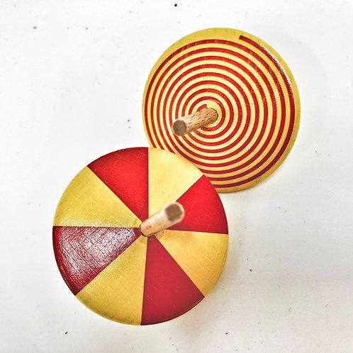 Kreisel Gelb Rot