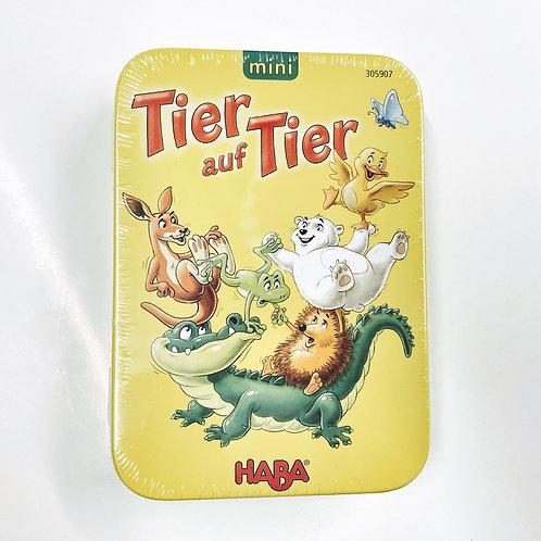 Mini Spiel Tier auf Tier