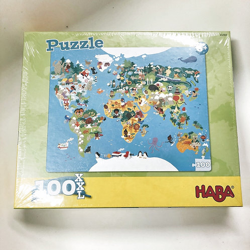 Haba Puzzle XXL Weltkarte