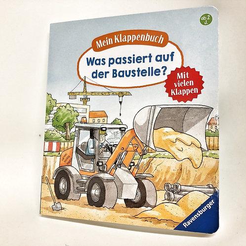 Ravensburger Klappenbuch Was passiert auf der Baustelle